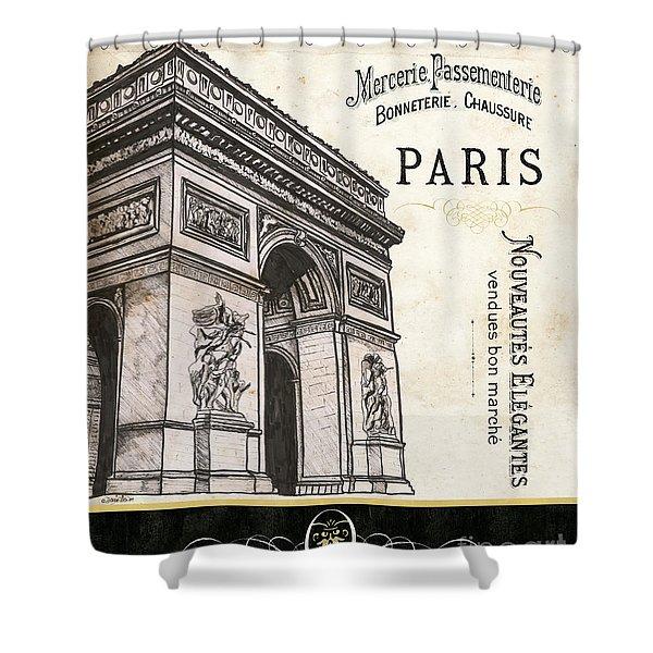 Paris Ooh La La 2 Shower Curtain