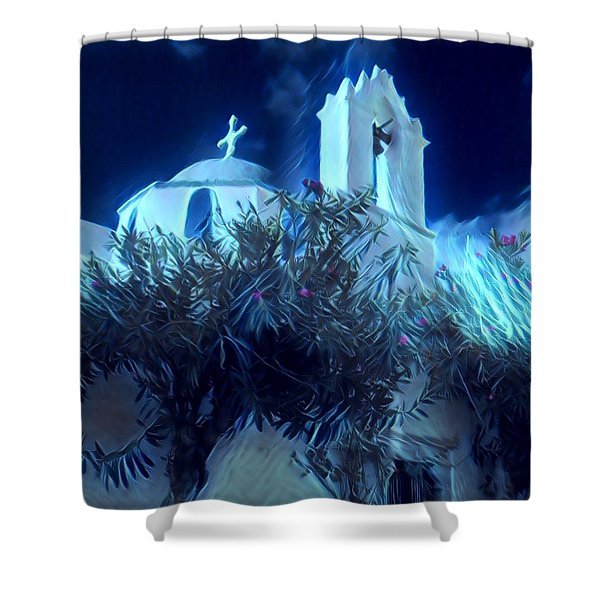 Paros Island Beauty Greece  Shower Curtain