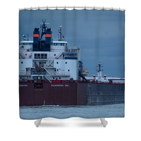 Paul R. Tregurtha Shower Curtain