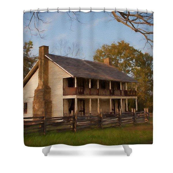 Pea Ridge Shower Curtain