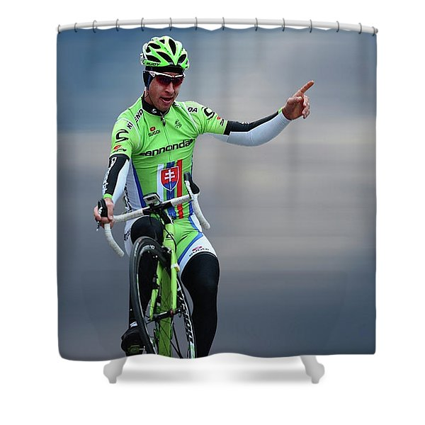Peter Sagan 9 Shower Curtain