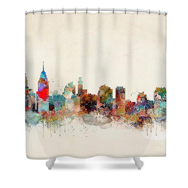 Philadelphia Pennsylvania Shower Curtain