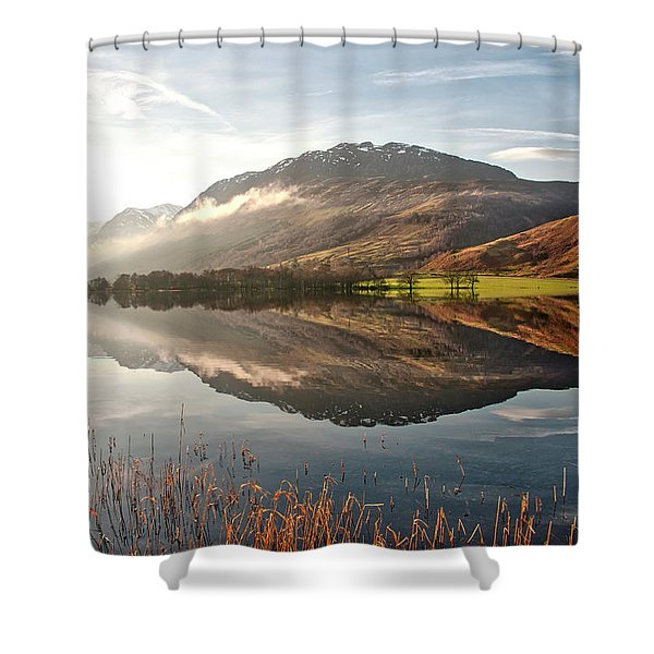 Scotland Nature Shower Curtain