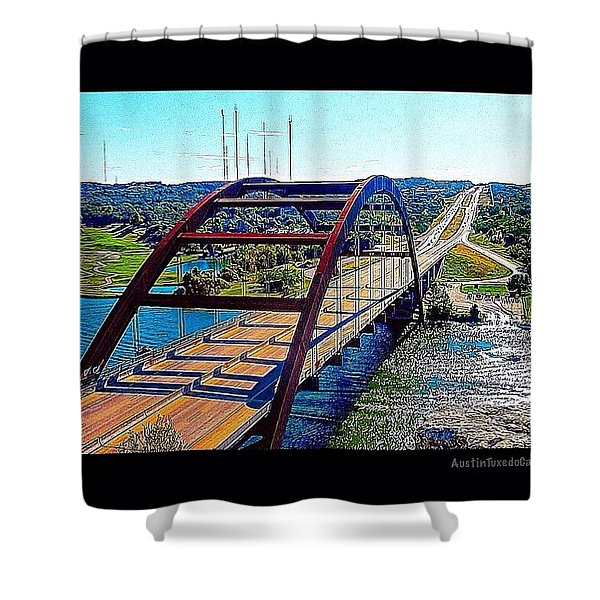 Photoshopping My Favorite #austin Shower Curtain