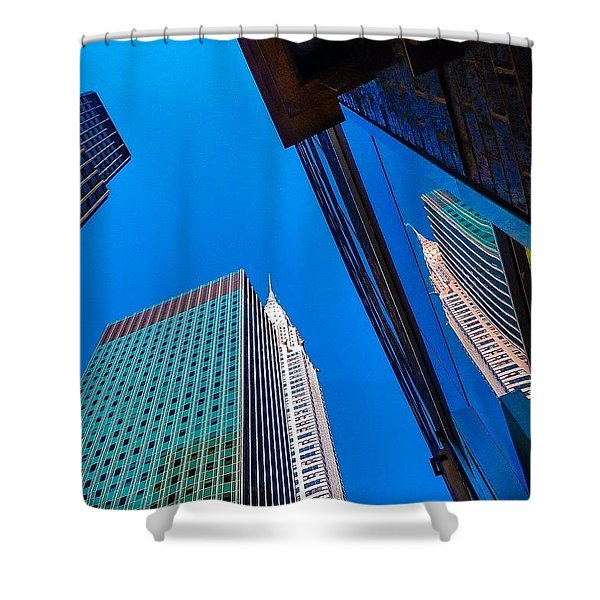 Photoshopping #tbt #nyc Summer Of 2013 Shower Curtain