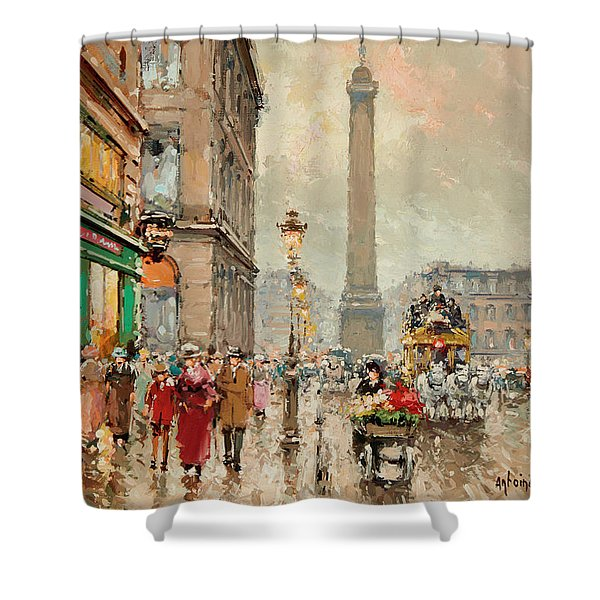 Place Vendome Shower Curtain