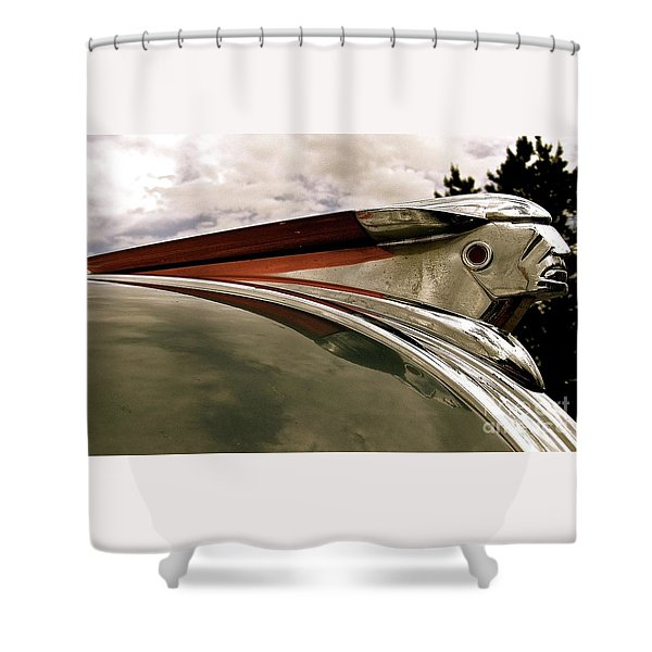 Pontiac Ornament  Shower Curtain