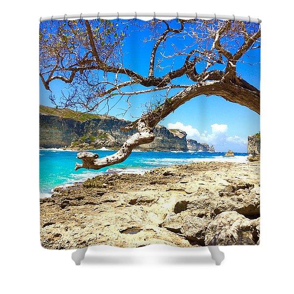 Porte D Enfer, Guadeloupe Shower Curtain