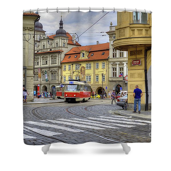 Prague Shower Curtain