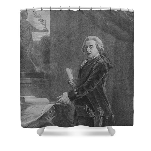 President John Adams - Two Shower Curtain
