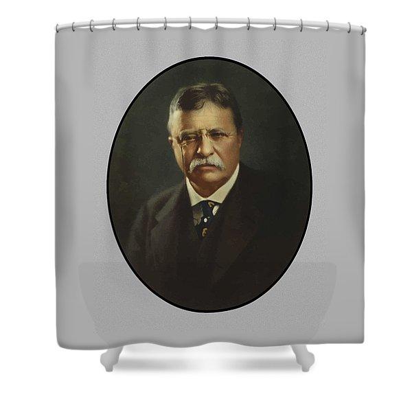 President Theodore Roosevelt  Shower Curtain