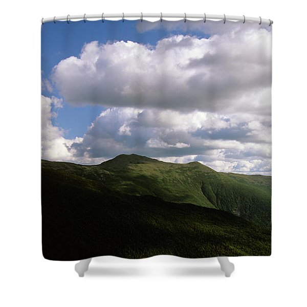 Shower Curtain featuring the photograph Presidential Range - White Mountains New Hampshire Usa by Erin Paul Donovan