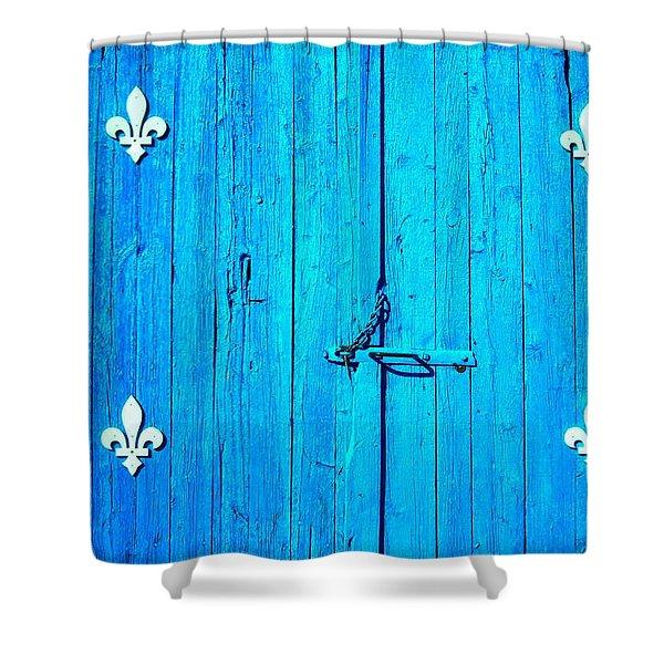 Quebec ... Shower Curtain