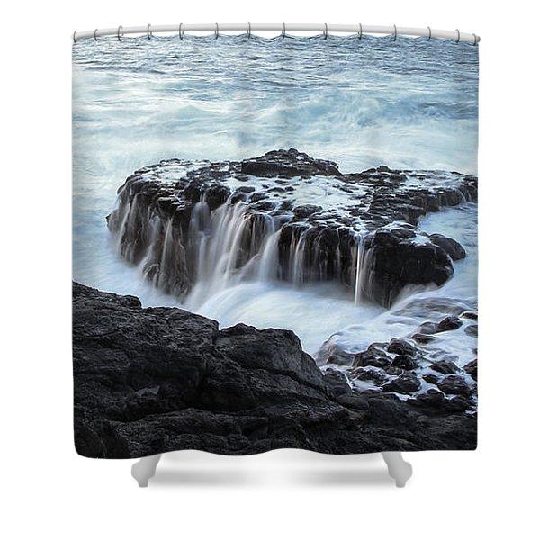Queens Bath Shower Curtain