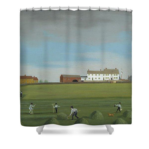 Ralph Wheelock's Farm Shower Curtain