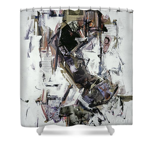 Recordare Shower Curtain