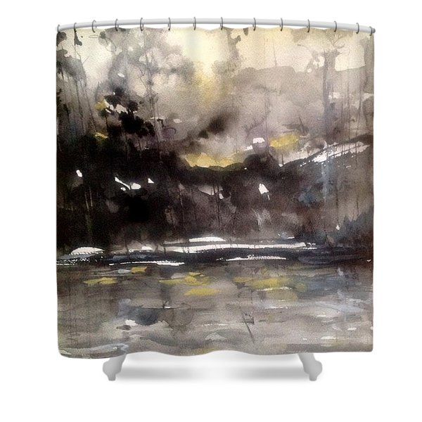 Rivers Of Light Series  Shower Curtain