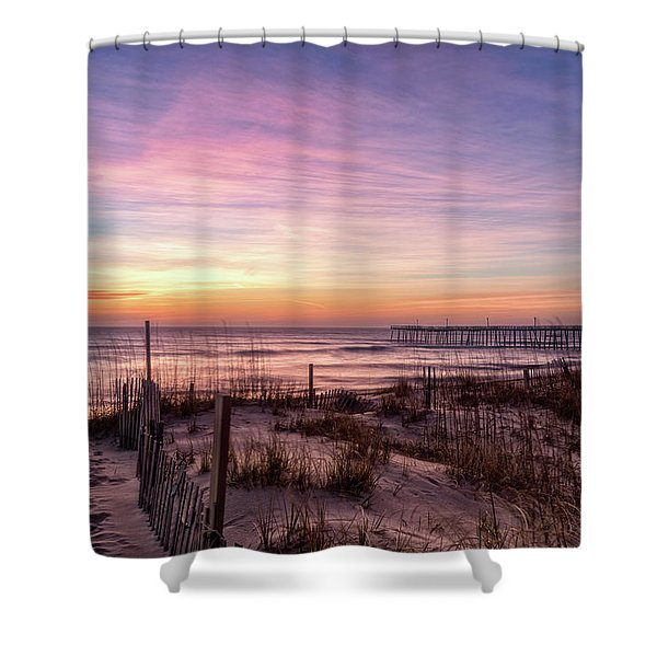 Rodanthe Sunrise Shower Curtain