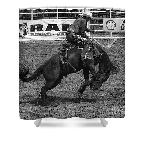 Rodeo Saddleback Riding 5 Shower Curtain
