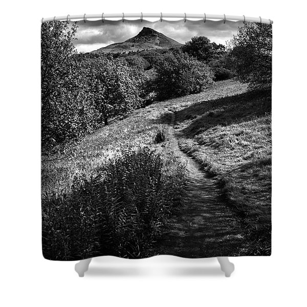 Roseberry Topping Shower Curtain