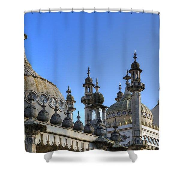 Royal Pavilion Brighton Shower Curtain