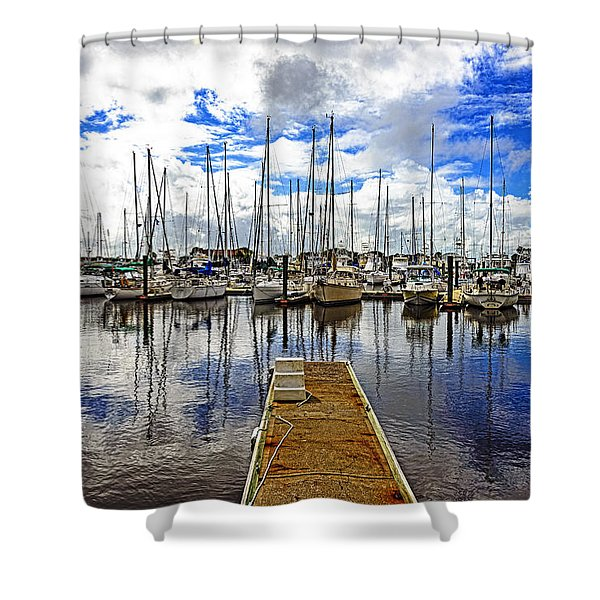 Safe Harbor Shower Curtain