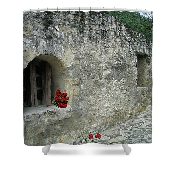 San Antonio Rose Shower Curtain