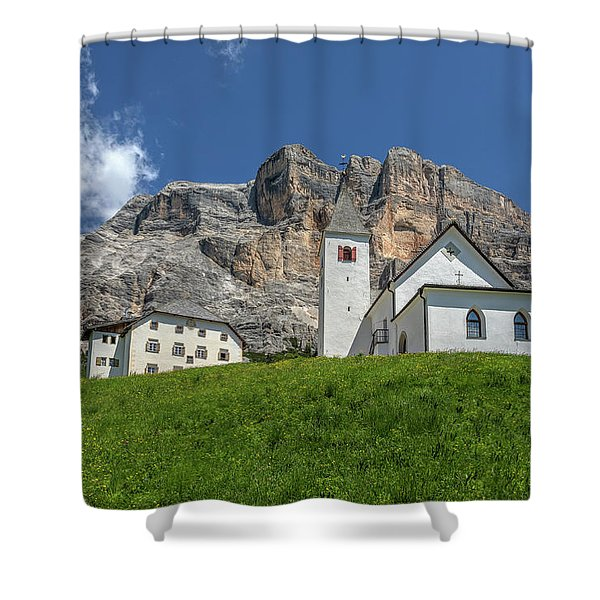Sasso Di Santa Croce - Italy Shower Curtain