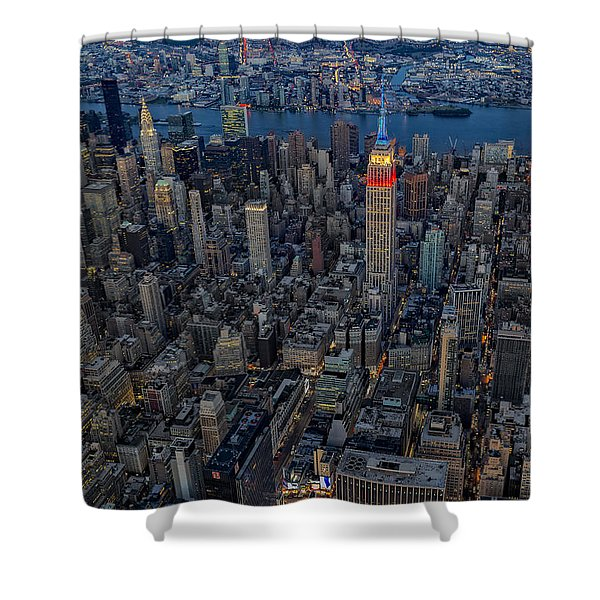 September 11 Nyc Tribute Shower Curtain