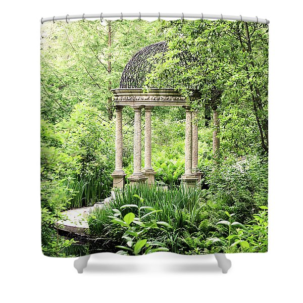 Serenity Garden Shower Curtain