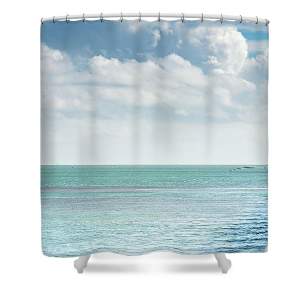 Seven Mile Fishing Shower Curtain