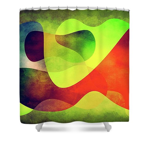 Shapes 3 Shower Curtain