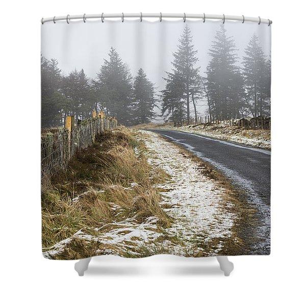 Sheriffmuir Road Shower Curtain