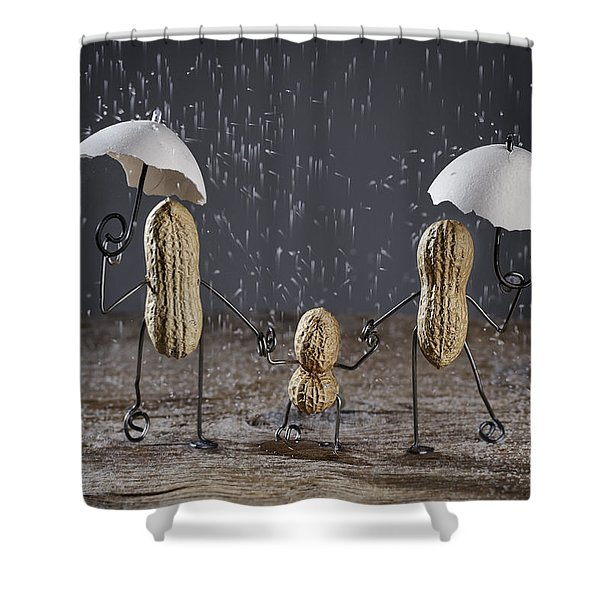 Simple Things - Taking A Walk Shower Curtain