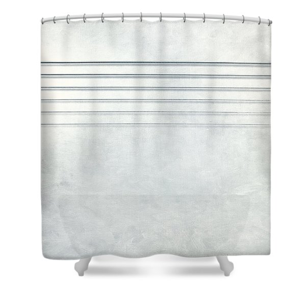 Six Strings Shower Curtain