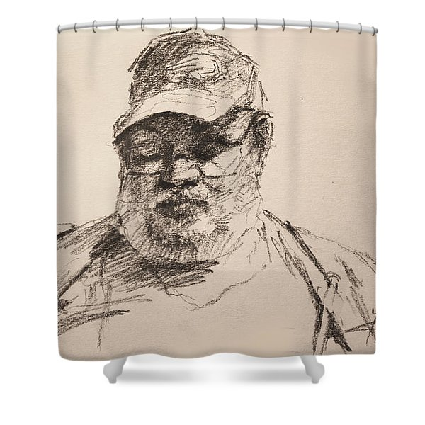 Sketch  Shower Curtain