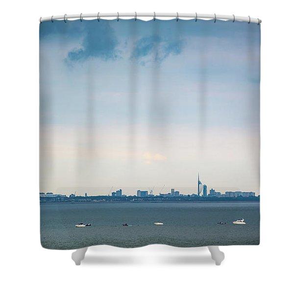 Solent Skies Shower Curtain