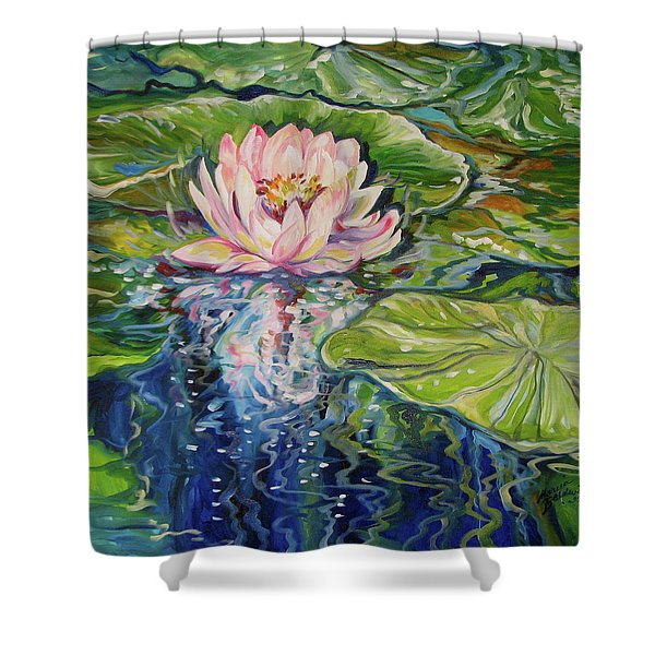 Solitude Waterlily Shower Curtain