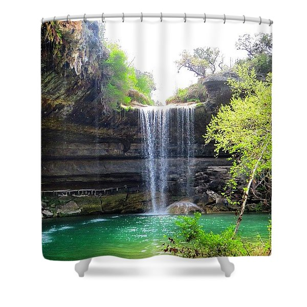 Spent The Day At Hamilton Pool. Yes Shower Curtain