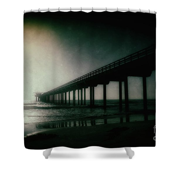 Spotlight On Scripps Shower Curtain