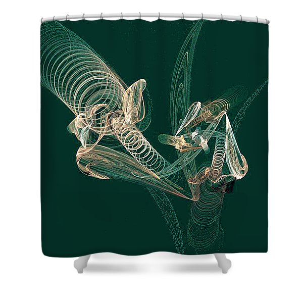 Sprung Shower Curtain