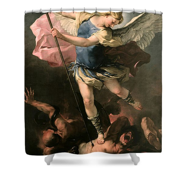 St. Michael Shower Curtain