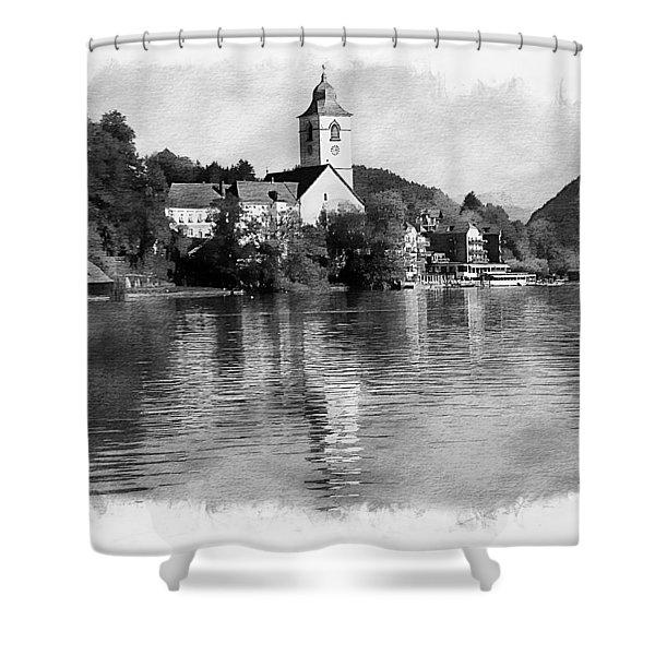 St Wolfgang Splender Shower Curtain