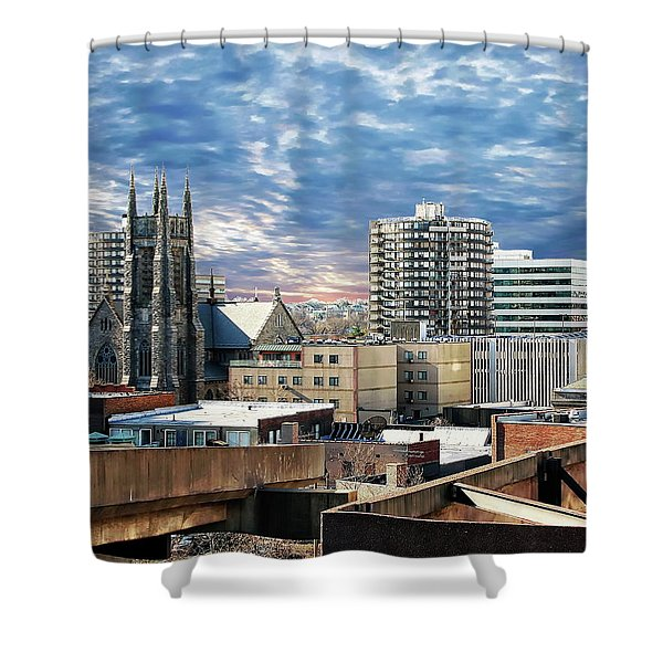 Stamford Cityscape Shower Curtain