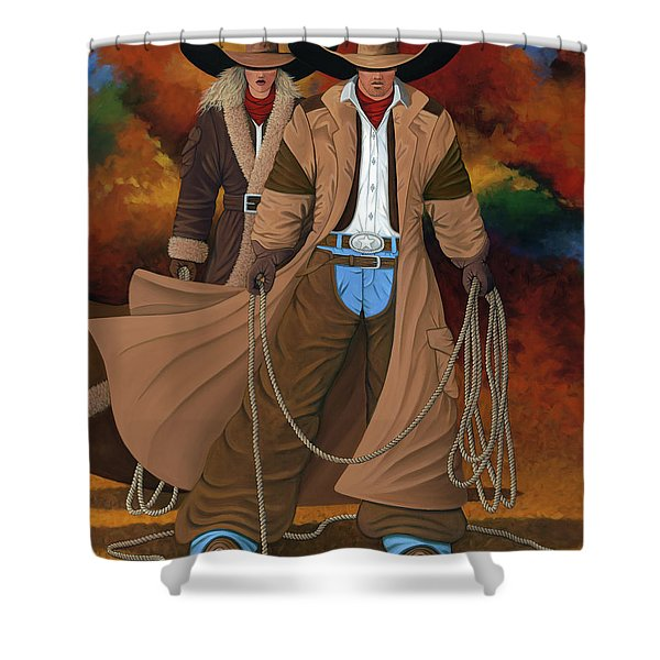 Stand By Your Man Shower Curtain