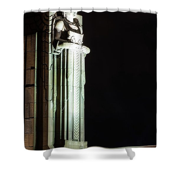 Standing Guard Shower Curtain