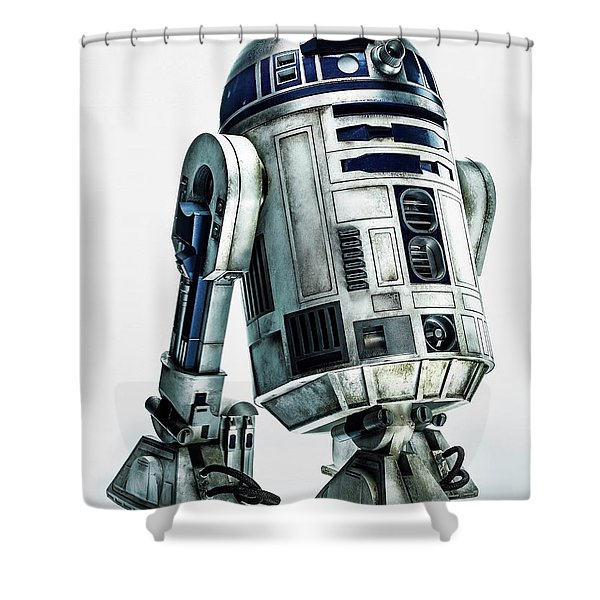 Star Wars Episode Vii - The Force Awakens 2015 Shower Curtain