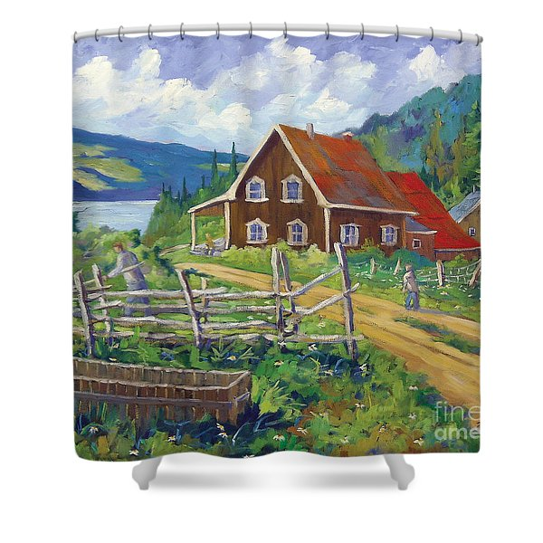Ste Rose Du Nord  Shower Curtain