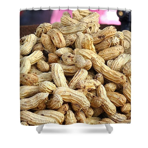 Steamed Peanuts Shower Curtain