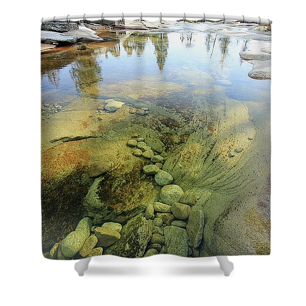 Shower Curtain featuring the photograph Stream Dreams by Sean Sarsfield